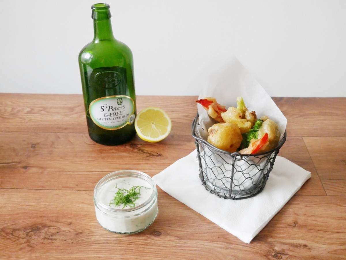 Gluten-Free Beer Battered Veggies + A Giveaway!