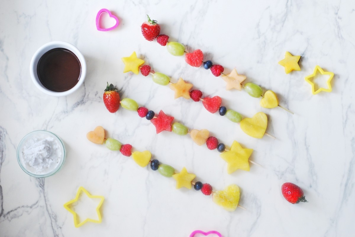 Fruit Skewers – #LittleKitchen Campaign
