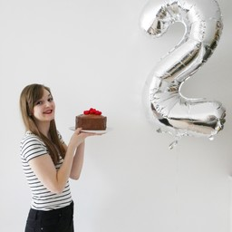 Heart + Bowl's 2nd Birthday – Chocolate Celebration Cake