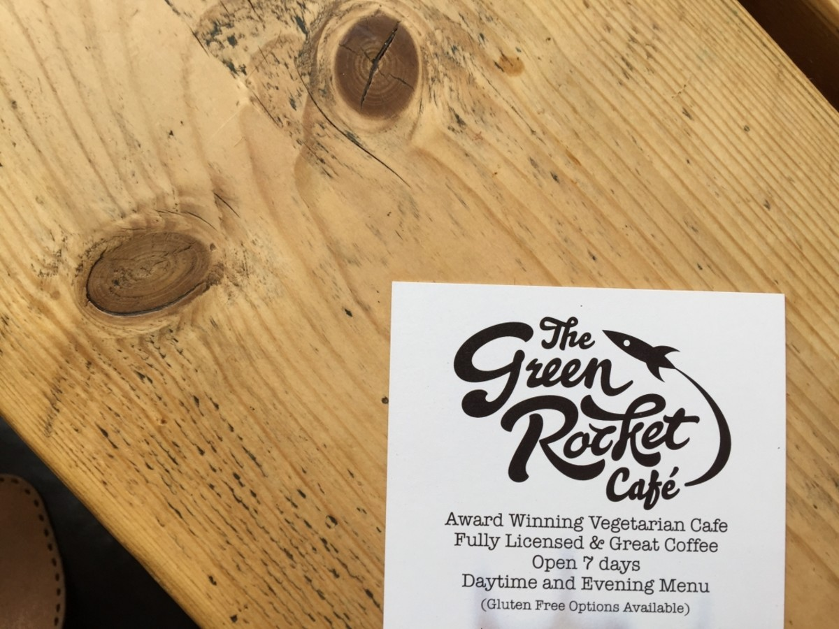 The Green Rocket Cafe – Review