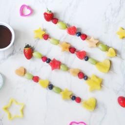 Fruit Skewers – #LittleKitchen Campaign